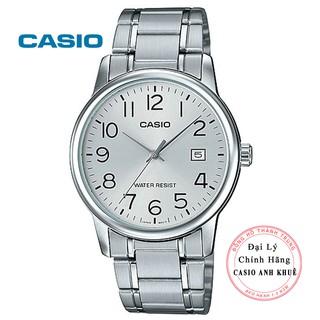 Đồng hồ nam Casio MTP-V002D-7BUDF dây kim loại