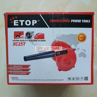 Máy thổi bụi - hút bụi 700W ETOP XC25 - Mô tơ 100% dây đồng (nhập Thái Lan)