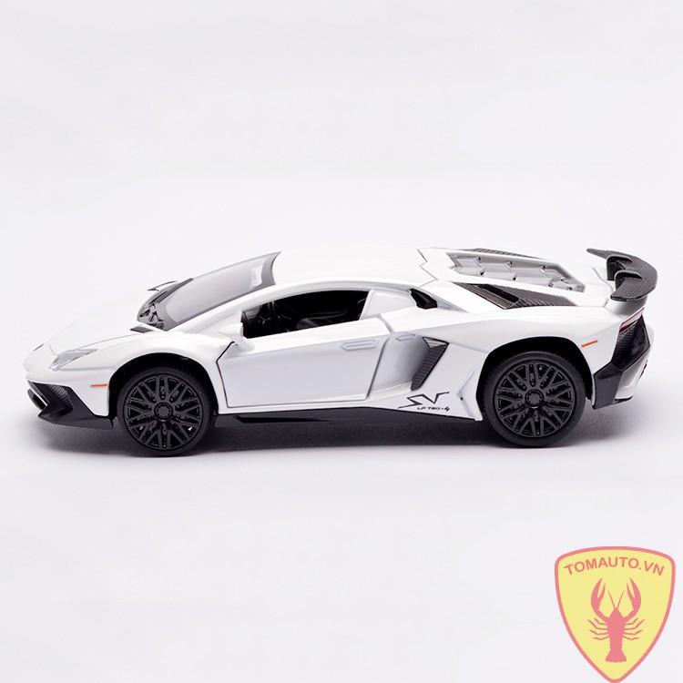 Mo Hinh Lamborghini Centenario Lp750 4 1 32 Miniauto Full Box Trắng