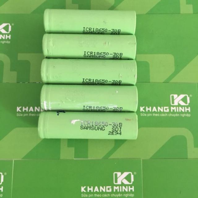 KM Cell pin Samsung ICR18650-30A và 30B cũ, dùng cho sạc dự phòng, đèn LED, đèn pin - 2915101 , 139616938 , 322_139616938 , 22000 , KM-Cell-pin-Samsung-ICR18650-30A-va-30B-cu-dung-cho-sac-du-phong-den-LED-den-pin-322_139616938 , shopee.vn , KM Cell pin Samsung ICR18650-30A và 30B cũ, dùng cho sạc dự phòng, đèn LED, đèn pin
