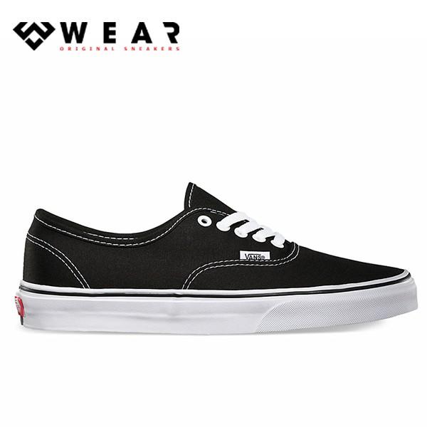 Giày Sneaker Unisex Vans Authentic Black White - VN000EE3BLK
