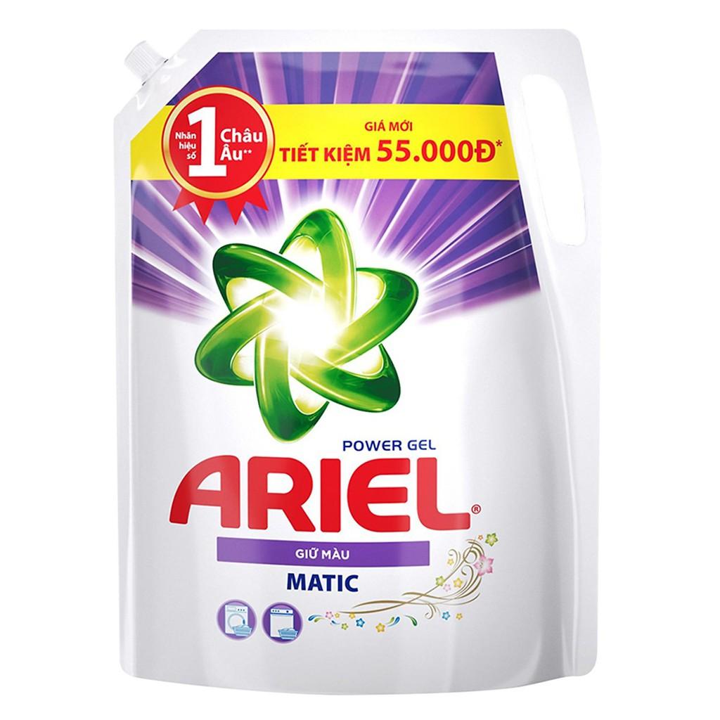 Hình ảnh [HCPGSBD - 15% tối đa 50K đơn 199K ]Ariel Matic nước giặt Túi 2.15kg-2