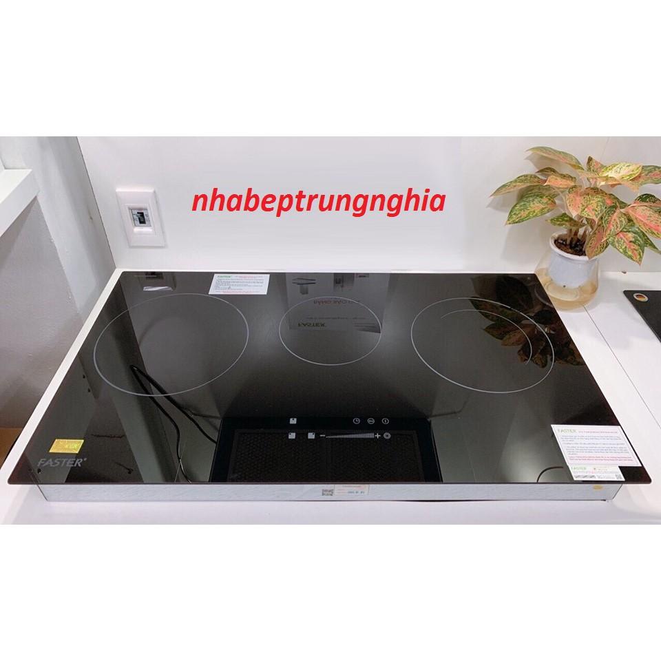 Bếp điện từ Faster FS 713HI nhập khẩu Malaysia, bếp điện từ đôi, bếp từ hồng ngoại, bếp hỗn hợp điện từ