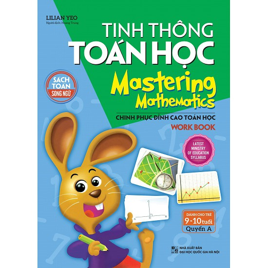 Sách - Tinh Thông Toán Học - Mastering Mathematics - Dành Cho Trẻ 9-10 Tuổi - Quyển A