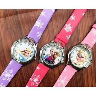 Hộp quà tặng đồng hồ công chúa ELsa đính đá sang trọng