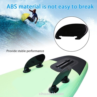 Universal ABS Accessories Durable Marine Plug In Corrosion Resistant Paddle Board Buckle Type Surfboard Side Fin