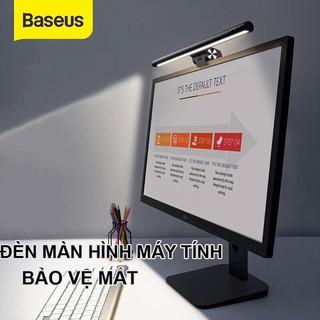 (Có Bản Pro) Đèn Treo Màn Hình Máy Tính Laptop Bảo Vệ Mắt Baseus i-Work Series (3 Light Mode, Anti Bluelight)