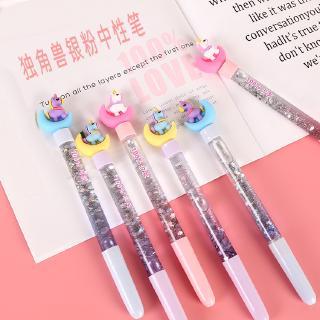 Originality Small Fairy Good Pink Lovely Stars Income Oil Quicksand Originality Magic Colorful Unicorn Neutral Pen