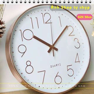 [Sale khai trương giá sốc ] Đồng hồ treo tường kim trôi Quartz cao cấp - Bảo hành chính hãng thumbnail