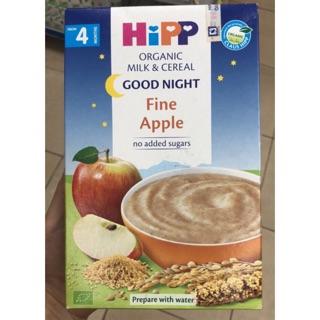 Bột Hipp chúc ngủ ngon táo tây thìa là 250g