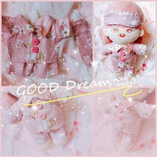 Set đồ ngủ sakura cho doll20cm