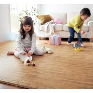 [Hàng Loại 1] Thảm ghép xốp cho bé không mùi, chống thấm nước – Thảm xốp ghép phòng tập vân gỗ 60×60 – Thảm Trải Sàn