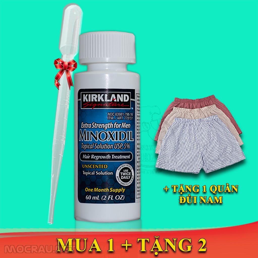 #FREESHIP - Minoxidil 5% Kirkland chính hãng - Thuốc Mọc Râu Tóc - Trị Hói - Dưỡng rậm Châ