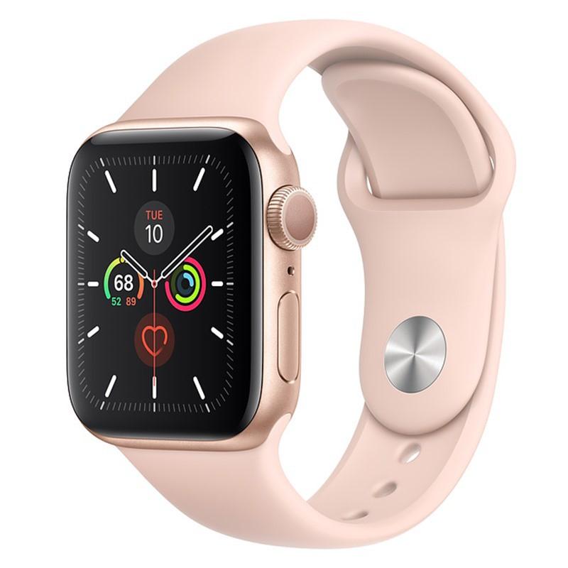 Đồng Hồ Thông Minh Apple Watch Series 5 GPS VN/A (Viền Nhôm & Dây Cao Su)-Chính