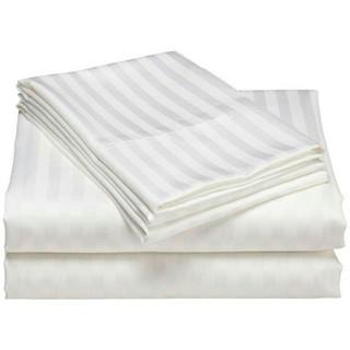 Vỏ ,bao Gối Trắng Sọc Cotton 40×60 , 50x70cm,vỏ ôm 35x105cm