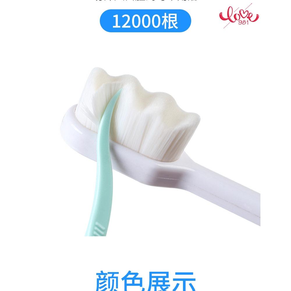 Bàn Chải Đánh Răng Nano Lông Mềm Siêu Mịn Kiểu Nhật Bản Cho Người Lớn