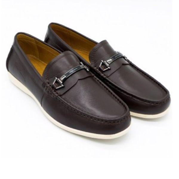 Giày lười nam Pierre Cardin PCMFWLE322BRW màu nâu