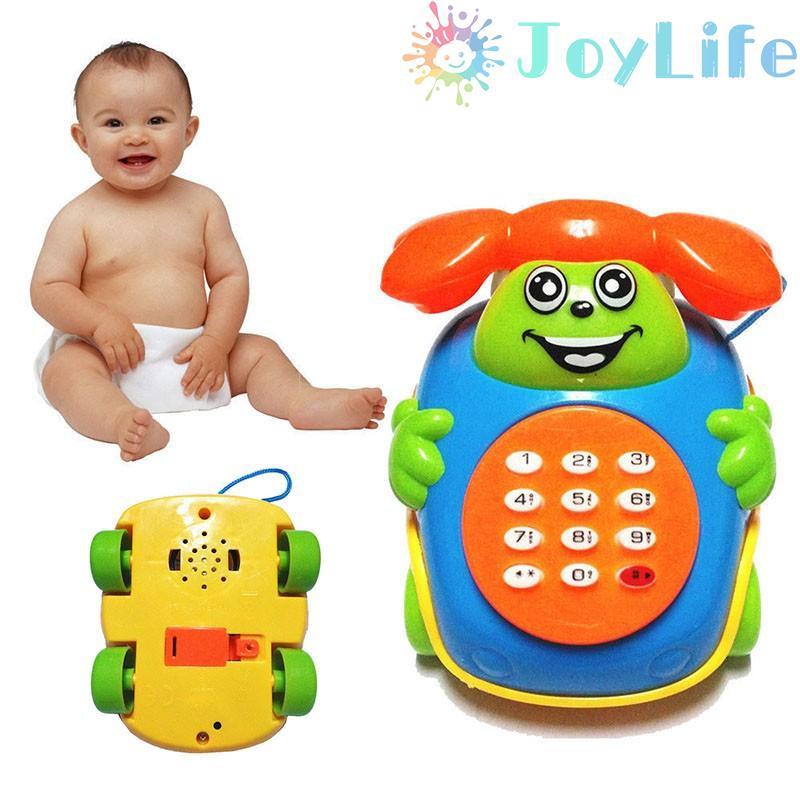 Music Phone Toy Cartoon Educational Developmental Kids Baby Reliable Hot Sale