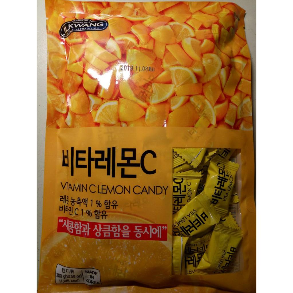 Kẹo IL KWANG cứng vị chanh muối 300g Hàn Quốc