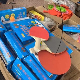 COMBO 10 bộ bóng bàn hót hít(cán gỗ)