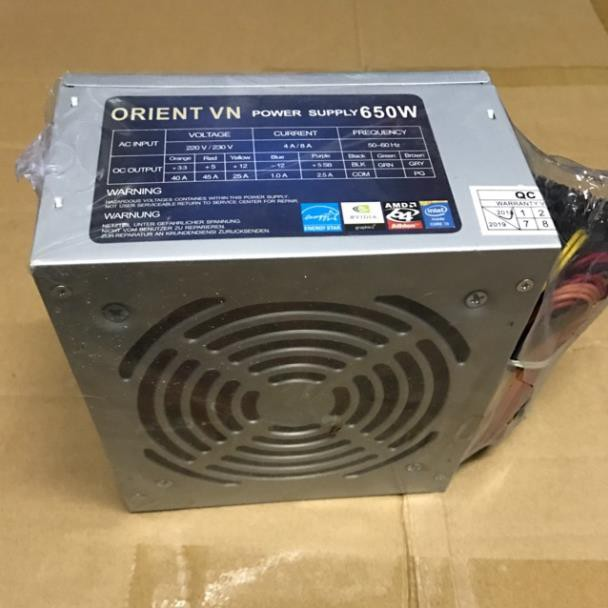 Nguồn cho cây ORIENT VN 650W -PC