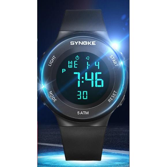 Đồng hồ điện tử nam SYNOKE cao cấp sang trọng dễ thương cực xinh siêu đẹp
