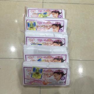 Combo 5 túi Khăn Vải Khô Đa Năng Baby Hiền Trang loại 200-220g Giá Sốc