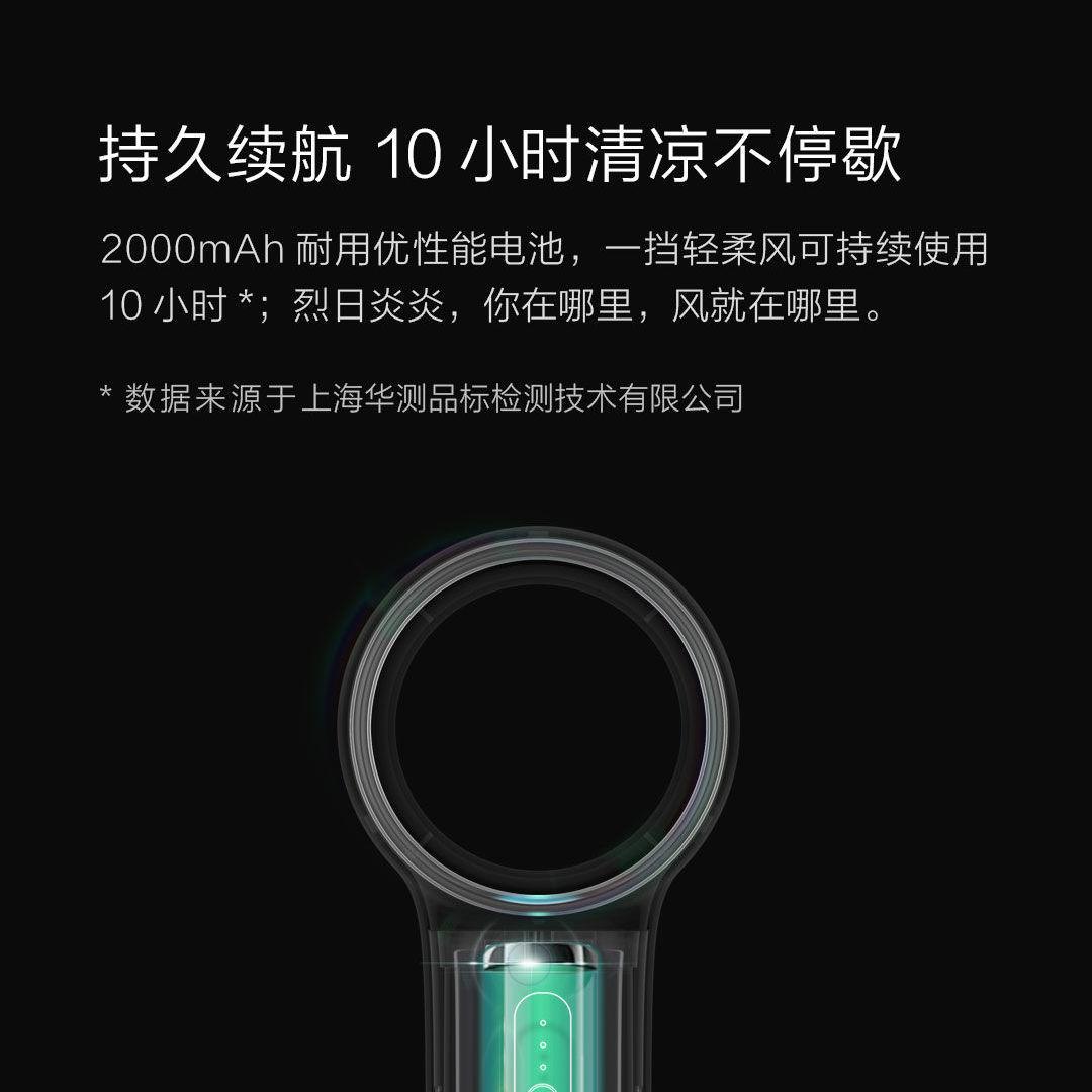 Quạt Mini Cầm Tay Không Cánh Sạc Usb Xiaomi chính hãng 385,200đ