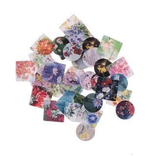 46 Pcs/box Various Plants Mini Paper Sticker Decoration Diy Diary Label Sticker