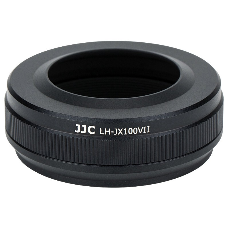 Bộ vòng bọc ống kính kim loại JJC & Bộ vòng tiếp hợp thay thế cho ống kính Fujifilm LH-X100 & vòng điều hợp AR-X100 cho máy ảnh Fujifilm X100V X100 X100S X100T X100F (Hỗ trợ nắp ống kính Fujifilm chính hãng)