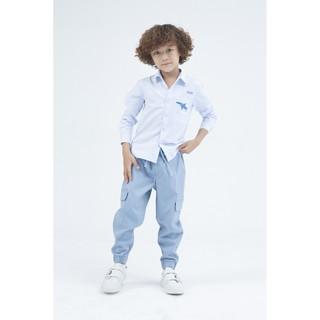 [Mã WABRIVY933 giảm 50k đơn 0Đ] IVY moda áo sơ mi bé trai MS 17K0935 thumbnail