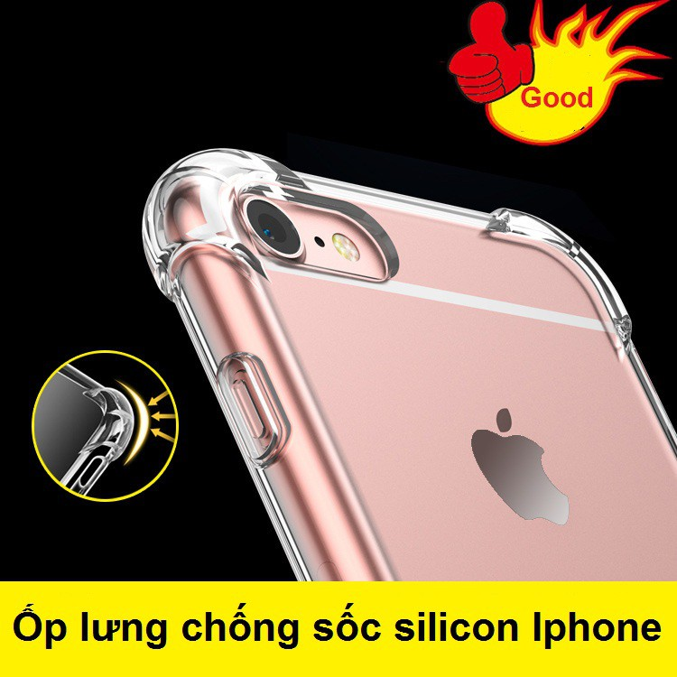 Ốp lưng trong chống sốc silicon Iphone