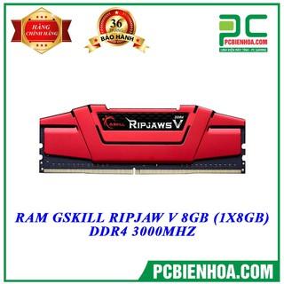 BỘ NHỚ G.SKILL RIPJAWS 8GB DDR4 3000MHz MAI HOÀNG thumbnail
