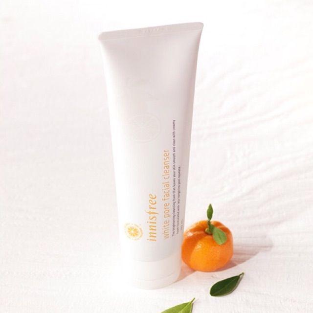 Sữa rửa mặt trắng da INNISFREE WHITE Pore facial cleanser 150ml