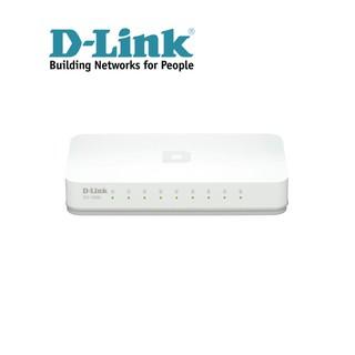Thiết bị chuyển mạch D-LINK DES-1008C - Hàng chính hãng thumbnail