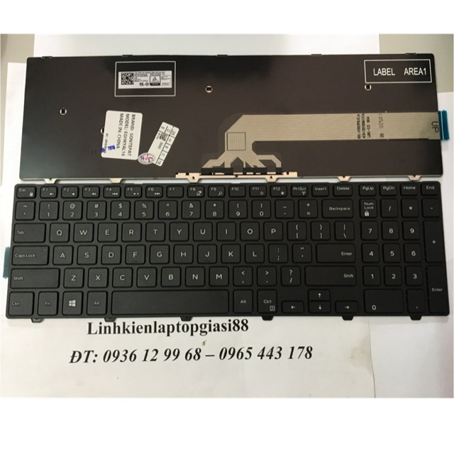 Bàn phím Dell 3542, 3541, 15-3000 |Chính