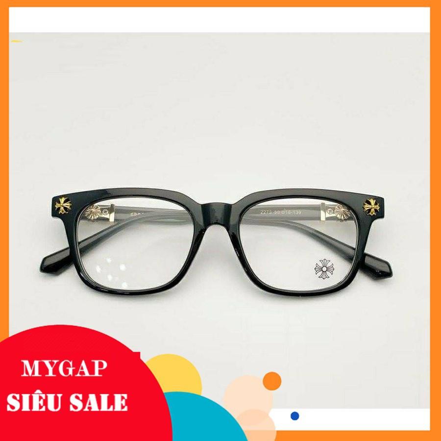 Gọng kính Nam Nữ giả cận - thiết kế kính mắt vuông, đa dạng màu sắc dễ lựa chọn