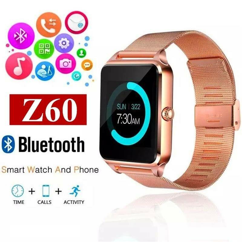 Đồng hồ thông minh z60 Bluetooth GSM hỗ trợ thẻ SIM cho iOS Android -DC3561