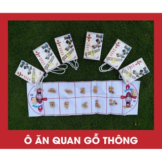 Bộ đồ chơi Ô ăn quan gỗ thông hàng Việt Nam
