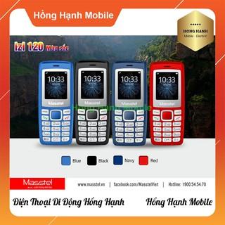 Hình ảnh Điện Thoại Masstel iZi 120 - Hàng Chính Hãng - Hồng Hạnh Mobile-0