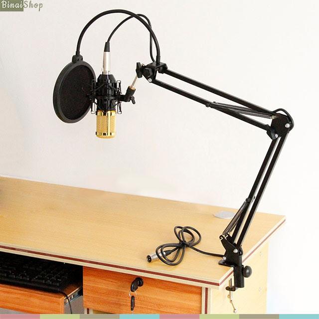 Combo châp kẹp mic và màn lọc mic