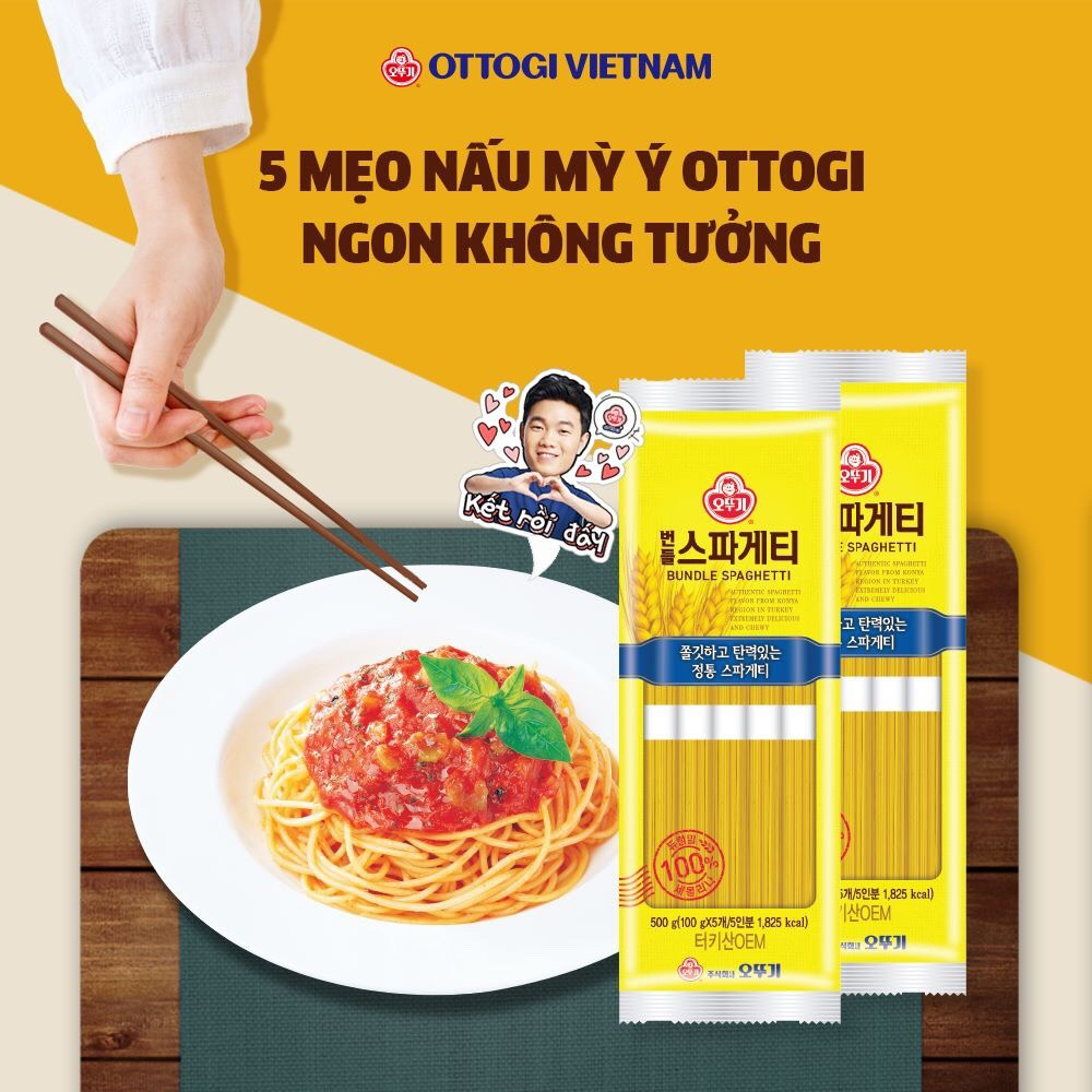Mỳ Ý OTTOGI 500g