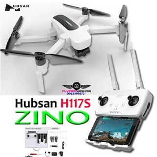 Flycam Hubsan H117S ZINO 5.8GHZ có thể gập lại FPV 4K UHD 3 trục gimbal