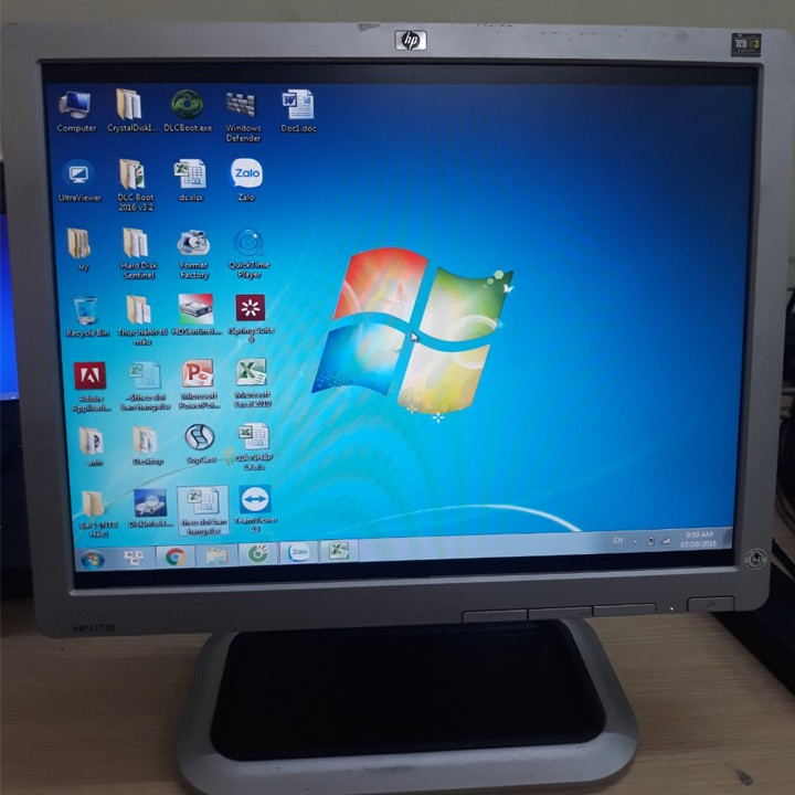 Màn hình máy tính HP 17in nguyên bản thanh lý văn phòng