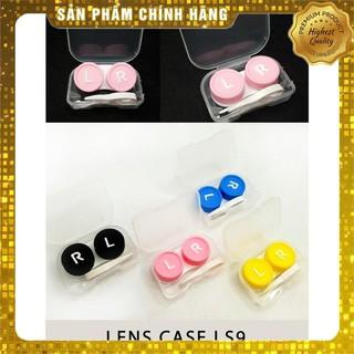 [Hàn Quốc chính hãng] Bộ dụng cụ đeo kính áp tròng full – 1 hộp lens – 1 Khay đựng nhiều màu sắc – 1 Bộ dụng cụ đeo lens