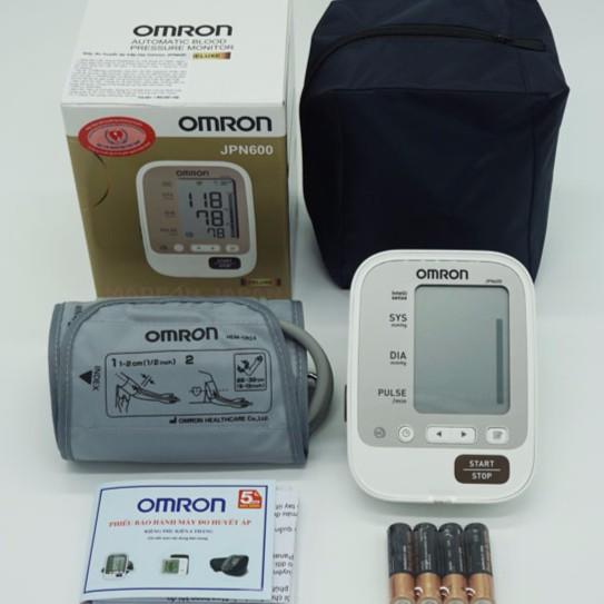 Máy đo huyết áp bắp tay Omron JPN600 (MADE IN JAPAN) - 3122441 , 1141227075 , 322_1141227075 , 1470000 , May-do-huyet-ap-bap-tay-Omron-JPN600-MADE-IN-JAPAN-322_1141227075 , shopee.vn , Máy đo huyết áp bắp tay Omron JPN600 (MADE IN JAPAN)