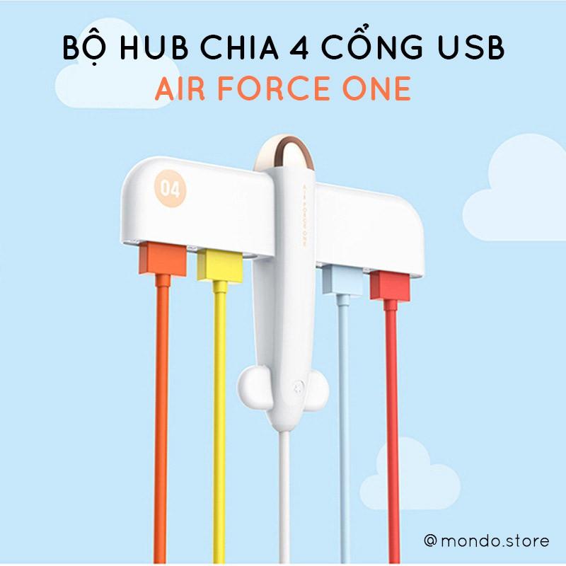 Bộ Hub Chia Cổng USB Từ 1 Thành 4 Cổng Giá chỉ 150.000₫