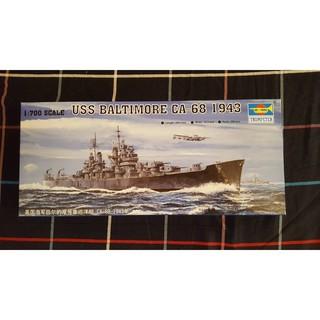 Trumpeter USS Baltimore CA-68 1943 1/700