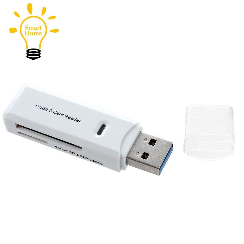 ├ξ┥Sd Card Reader New USB 3.0 5Gbps Super Speed SDXC TF Flash Memory Adapter