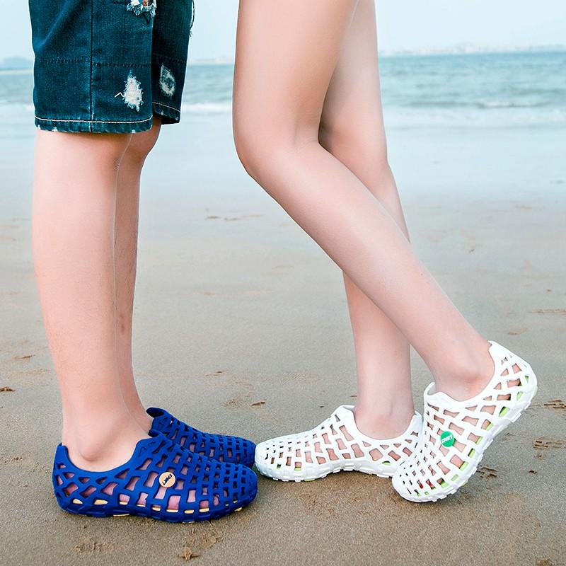 Giày chống trượt- Giày lội nước- Giày lỗ nam thoáng khí-  giày đi biển- Giày đi mưa- Sandal nam Giày nam nữ